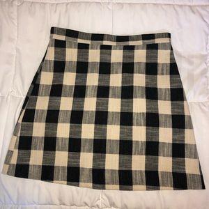 Gingham Topshop Skirt